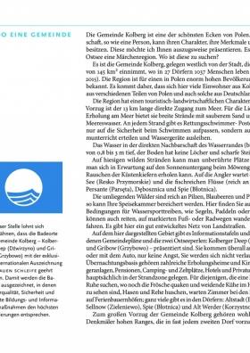 Gemeinde Kolberg - Geschichte und touristische Attraktionen strona 7