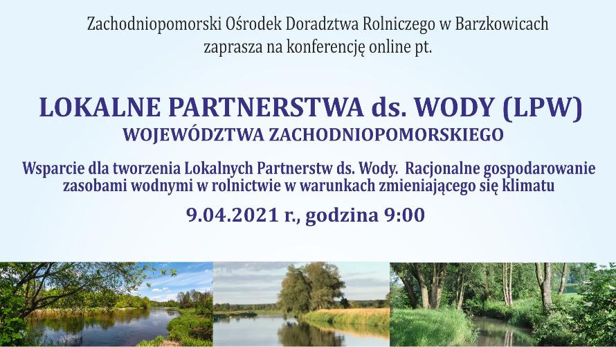 Konferencja Lokalnych Partnerstw ds. Wody
