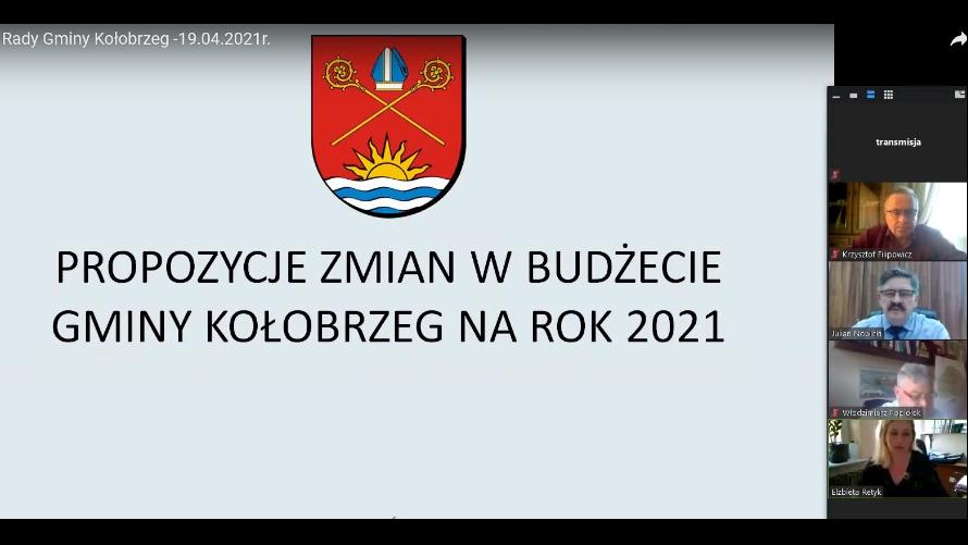 XXVII Nadzwyczajna Sesja Rady Gminy Kołobrzeg