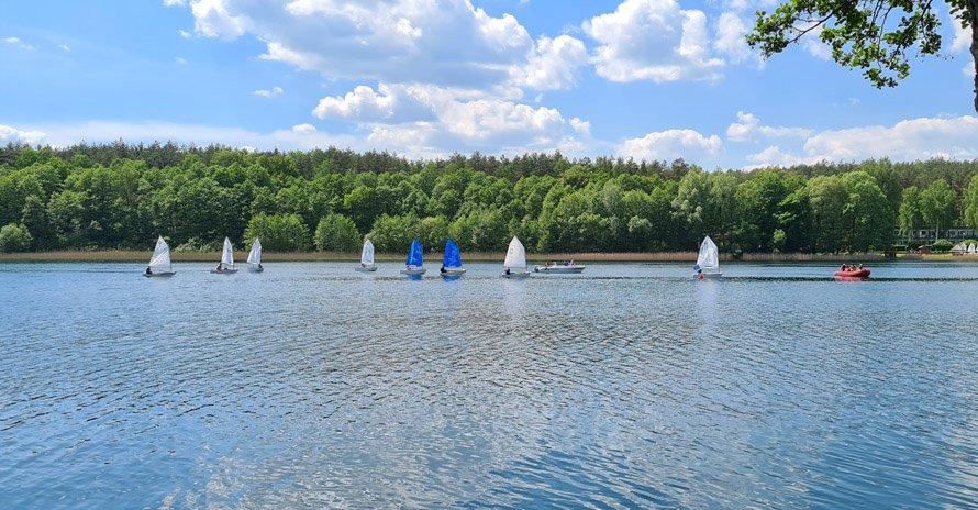 Sukces UKŻ Błękitni na jeziorze Siecino
