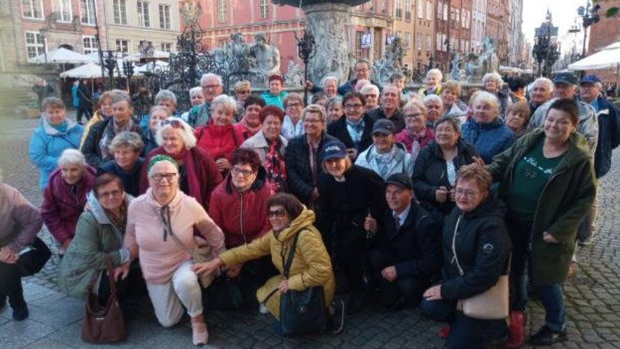 Gminny Klub Seniora na wycieczce